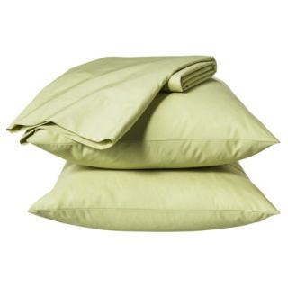 Room Essentials Easy Care Sheet Set   Faded Green (California King)