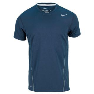 Nike Men`s Power UV Tennis Crew Xsmall 454_Armory_Navy