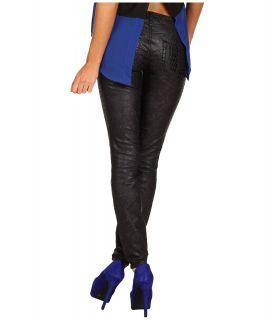 Buffalo David Bitton Jazz Low Rise Skinny in Glossy Snake Womens Jeans (Black)