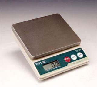 Taylor Digital Scale, Compact, 2 lb x 0.1 oz, NSF