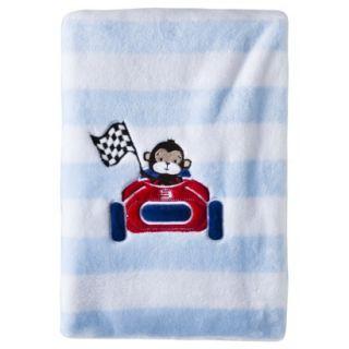 Fleece Blanket   Rah Rah Racer by Circo