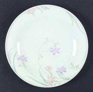 Mikasa Painted Daisies Dinner Plate, Fine China Dinnerware   Fine China,Purple &