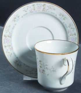 Lenox China Daisy Basket Flat Cup & Saucer Set, Fine China Dinnerware   Bouquet