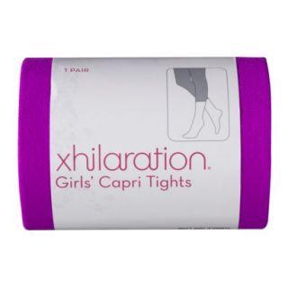 Xhilaration Girls 1 Pack Tights   Fuschia 7 10