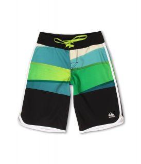 Quiksilver Kids Repel Boardshort Boys Swimwear (Green)