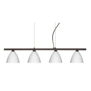 Besa Lighting BEL 4LP 177907 BR Mia Island Light