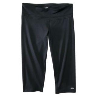 C9 by Champion Womens Tight Capri Athletic Pants   Black L