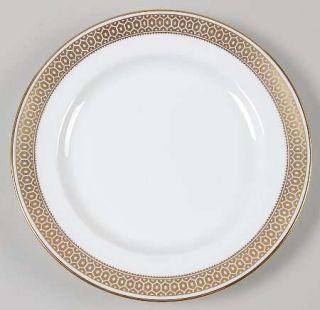 Spode Golden Honeycomb Salad Plate, Fine China Dinnerware   No Verge,Gold Honeyc