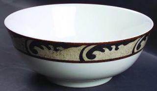 Sasaki China Pompeii 9 Salad Serving Bowl, Fine China Dinnerware   Non Rolled E