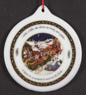 International Christmas Story Ornament, Fine China Dinnerware   Porcelain,Susan
