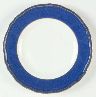 Wedgwood Crown Sapphire Salad Plate, Fine China Dinnerware   Bone, Sapphire Blue