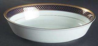 Noritake Golden Twilight 9 Oval Vegetable Bowl, Fine China Dinnerware   Legacy,