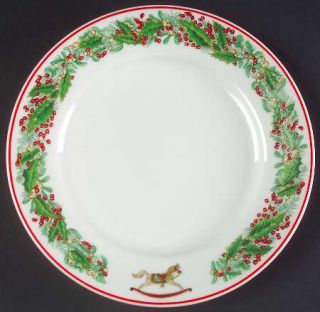 Vista Alegre Christmas Magic Bread & Butter Plate, Fine China Dinnerware   Vario