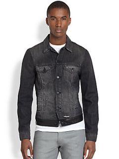 J Brand Owen Denim Jacket   Black