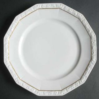 Rosenthal   Continental Gold Band (Maria,Thin Gold Band) Dinner Plate, Fine Chin