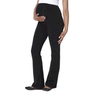 Be Maternity Cross Over Back Panel Pants   Black XL