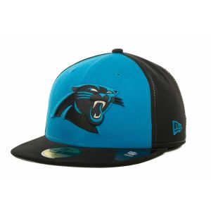 Carolina Panthers New Era NFL Baycik Fit Redux 59FIFTY Cap 1adc6108d