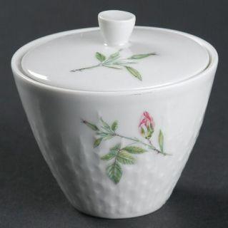 Hutschenreuther Rosita Mini Sugar Bowl & Lid, Fine China Dinnerware   Excellenz
