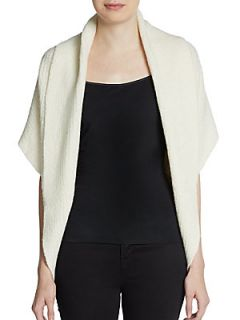 Cashmere Blend Cocoon Sweater