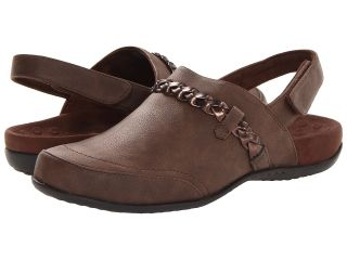 VIONIC with Orthaheel Technology Kerstin Mule Womens Clog/Mule Shoes (Brown)