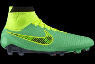 ... Nike Magista Obra FG iD Custom Womens Firm Ground Soccer Cleats Green  ...