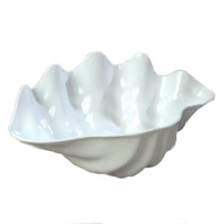 Carlisle 5 qt Buffet Clam Shell   19x12 7/8 White