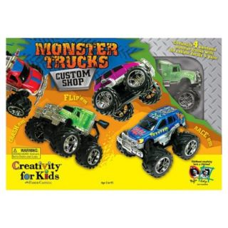 Creativity for Kids Monster Trucks Custom Shop