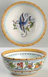 Tabletops Unlimited Villa Paradiso Soup/Cereal Bowl, Fine China Dinnerware   Far