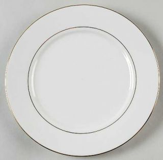 China(Made In China) Classic Gold Salad Plate, Fine China Dinnerware   Gold Rim