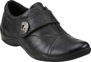 Womens Clarks Kessa Betty   Black Leather Casual Shoes