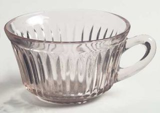 Anchor Hocking Queen Mary Pink Cup Only   Pink, Depression Glass