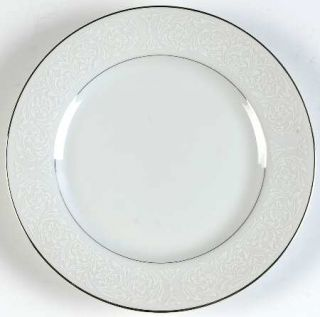 Carlton (Japan) Plymouth Bread & Butter Plate, Fine China Dinnerware   White Scr