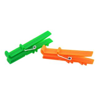 Cartoon Crocodile Shaped Cloth Clip(2 PCS,Random Color)