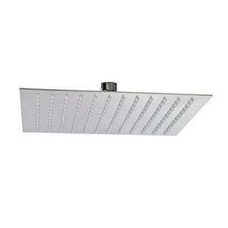 10 Modern Design Ultrathin Stainless Steel Square Shower Head
