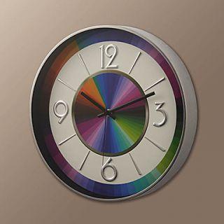 14H Modern Rainbow Style Wall Clock