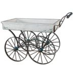 Uttermost 26128 Accent Furniture, Generosa Weathered Flower Cart
