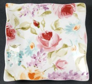 222 Fifth (PTS) Floral Fete Appetizer Plate, Fine China Dinnerware   Floral,Scal