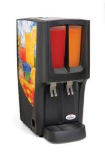 Grindmaster   Cecilware (2) 2.4 gal. Capacity Crathco Mini Duo Cold Beverage Dispenser
