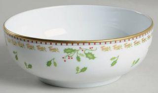Richard Ginori Merry Ginori Christmas Coupe Cereal Bowl, Fine China Dinnerware