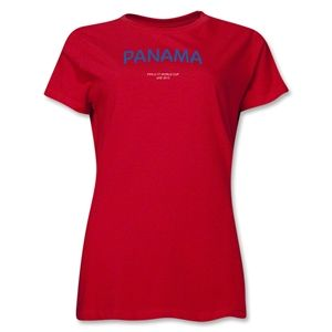 Panama 2013 FIFA U 17 World Cup UAE Womens T Shirt (Red)