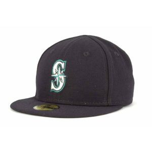 Seattle Mariners New Era MLB Authentic Collection 59FIFTY Cap
