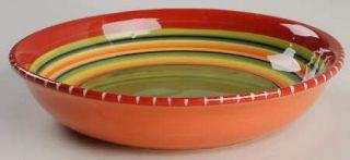 Hot Tamale 9 Soup/Pasta Bowl, Fine China Dinnerware   Red,Orange,Green,Yellow,S