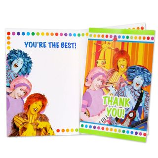 Doodlebops Thank You Notes