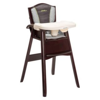 Eddie Bauer Classic 3 in 1 Wood High Chair   Lake Forest