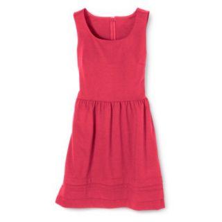 Merona Womens Ponte Dress   Blazing Coral   XL