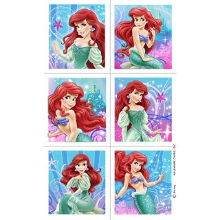 Disney The Little Mermaid Sparkle Stickers